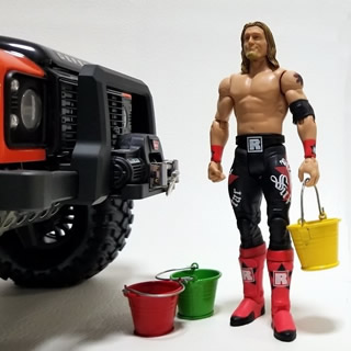 1/10 scale action figure for RC Car