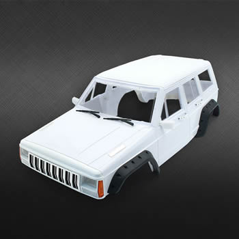 Hard Plastic 313mm Wheelbase Cherokee Body Car Shell