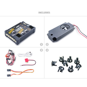 RC Aircraft/Car Sounds Light simulated system