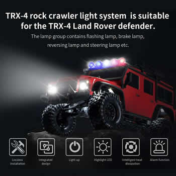 TRX-4 Rock Crawler Light System