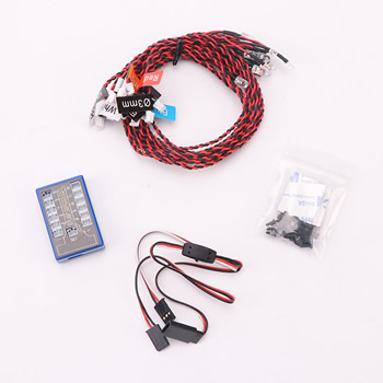 12 LED Multi-color RC Car Flashing Light System