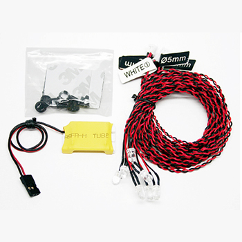 GT Power Simulated 8 LED Plane Lighting System