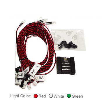 Flight Simulated and Flashing System