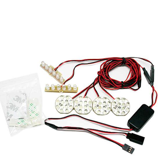 GT POWER RC Model 1/5 and 1/8 Off-road Vehicle Lighting System