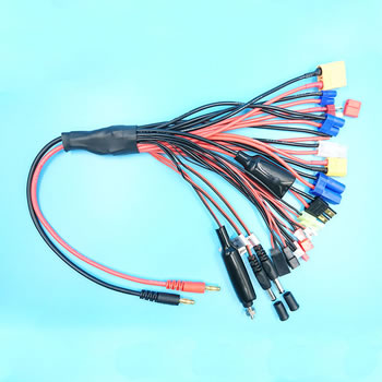 Multi charging 20 lead  with Silicone Wire