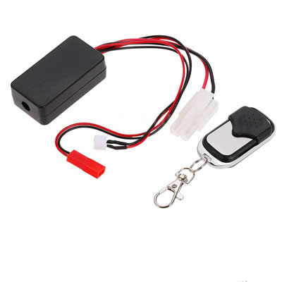 1/10 Winch Wireless Controller Remote Receiver Set for RC Crawler Cars